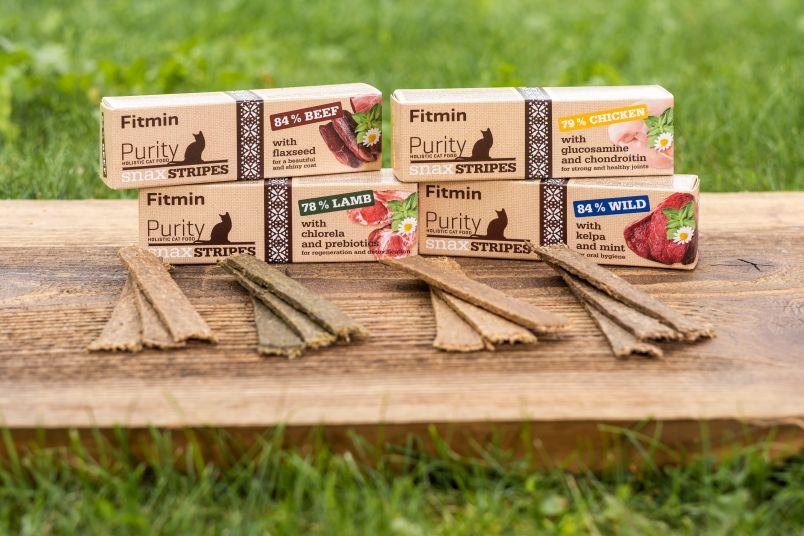 Pochoutky Fitmin Purity Snax Stripes  Foto: Fitmin, oficiální zdroj